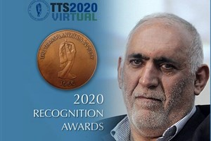Dr. Malek Hosseini, SUMS Faculty Member and Surgeon, Receives a Recognition Award-28th  International Congress of The Transplantation Society (TTS 2020)