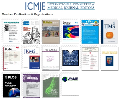 SUMS Membership in ICMJE