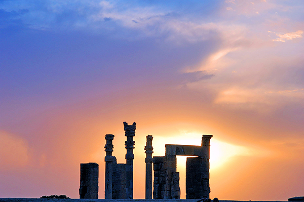 Persepolis 70km North East of Shiraz- Iran